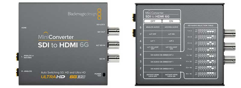 Blackmagic Bmd Convmbhs24k6g Mini Converter Sdi To Hdmi 6g