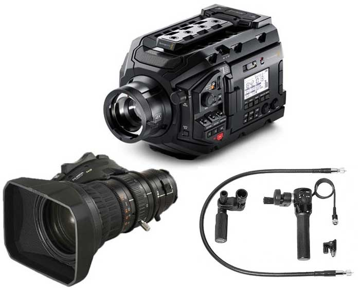 URSA Broadcast Camera Package