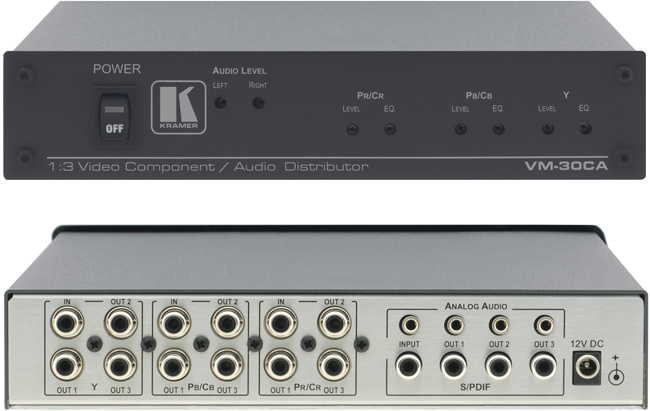 Kramer Vm 30ca 1 3 Component Video S Pdif Stereo Audio