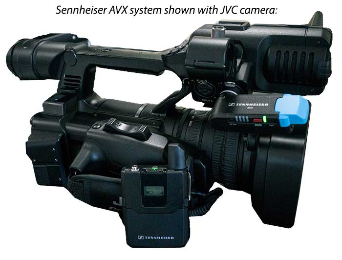AVX-MKE2 with JVC camera
